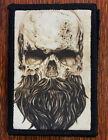 Skull Beard Morale Patch Tactical ARMY Hook Military USA Badge Flag Seals Devgru