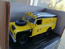 1:18 Universal Hobbies Eagle Collectibles Land Rover Serie IIi 109 AA ROAD SERV.