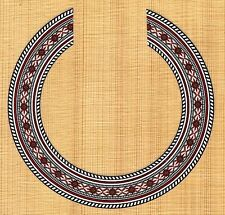 CLASSICAL, GUITAR  ROSETTE,SOUND HOLE, WATERSLIDE DECAL/STICKER HB-345