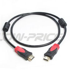 ULTRA HDMI CABLE v1.4 HIGH SPEED 1080p 3D 3FT 6FT 10FT 15FT 25FT WITH FERRITE