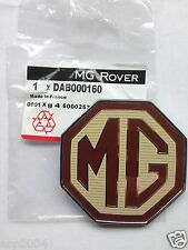 MG MGTF FRONT OR REAR OCTAGON BADGE DAB000160 FOR GRILLE OR BOOT LID