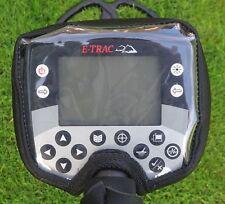 MINELAB E-TRAC/explorer-etc metallo detector-control SCATOLA cover-Black