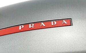 PRADA SPORT AUTHENTIC GLASSES HARD CASE PLASTIC GRAY CASE (155x60x45) + CLOTH