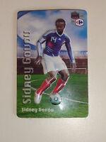 Magnet avec Relief Sidney Govou équipe de France de Football