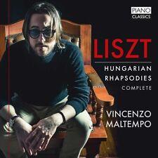 Liszt / Maltempo - Liszt: Hungarian Rhapsodies Complete [New CD]