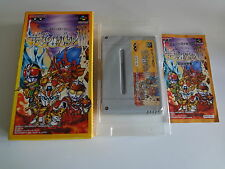 The Great Battle III Nintendo Super Famicom Japan