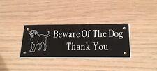 Beware Of The Dog Sign (Labrador)