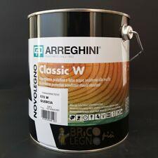 Impregnante protettivo all'acqua vernice per legno Arreghini Classic W lt. 2,500