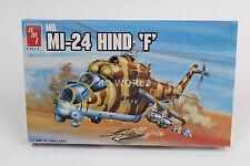 """AMT Ertl MIL MI-24 HIND """"F"""" 1/72 MODEL HELICOPTER Gun Ship  -SEALED- #RK1"""
