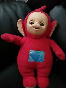 """TELETUBBIES PO Open & Close Eyes Soft Plush Toy 12"""" Original 1996 Vintage toy"""