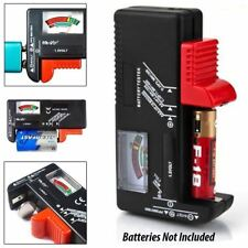 Pro Useful Universal Battery Tester Tool AA AAA C D 9V Button Checker Accessory