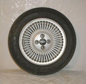 1982 Delorean DMC 12 OEM Front Wheel w Goodyear NCT Original Tire - No Core