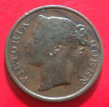 Straits Victoria 1/2 Half cent 1845(c)