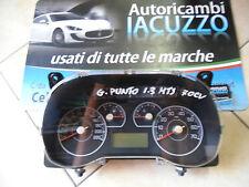TACHIMETRO CONTACHILOMETRI CRUSCOTTO FIAT GRANDE PUNTO 1.3 MULTIJET 70CV