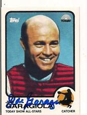 JOE GARAGIOLA NBC TODAY SHOW CARD AUTOGRAPHED HOF 1973 STYLE CARD
