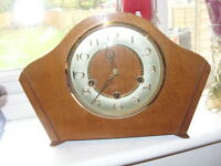 1930s smiths westminster chime mantel clock