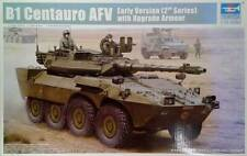 B1 Centauro AFV early version with upgrade Armor model kit Trumpeter 01564