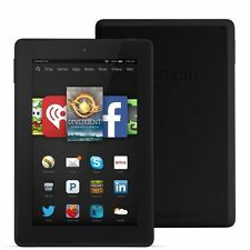 """Amazon Kindle Fire HD 6, 8GB, 6"""", Wi-Fi, with Leather Case Bundle."""