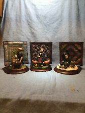 The Amish Heritage Collection Set Of Three Figurines