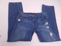 Lucky Brand Womens Sienna Tomboy Distressed Denim Jeans Size 10/30