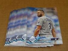 2018 Topps EVAN LONGORIA BASE LOT OF 40 CARDS RAYS GIANTS #223