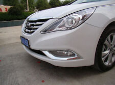 New Chrome Front Fog Light Cover Trim For Hyundai Sonata  2011 2012 2013