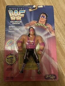 WWF Bend Ems Bret Hart Action Figure