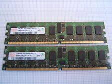 4Gb Kit, 2 x 2Gb 2Rx8 PC2-5300P-555-12 PARITY