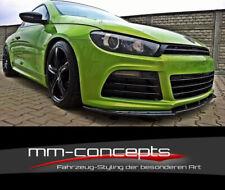 CUP Spoilerlippe SCHWARZ für VW Scirocco R Frontspoiler Spoilerschwert Lippe V1
