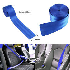 3.6M Car Seat Safety Strap Retractable Nylon Replace Belt Webbing For BMW Lexus
