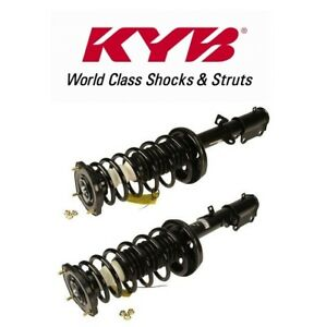 Pair Set of 2 Rear KYB Susp Struts and Coil Springs Kit for Toyota Corolla 11-13