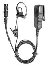 Bone Conduction Hirose Universal Two Way Radio Earpiece w/ Microphone & PTT HBCM