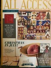 Anita Goodesign ALL ACCESS VIP Club JULY 2019 Embroidery Design CD & BOOK -