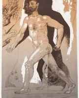 Willi Sitte (1921-2013), Immer vorwärts, 25/50,2002, DDR-Kunst