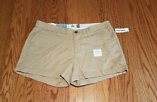 Old Navy Womens Size 4 6 8 10 Beige Shorts New With Tags