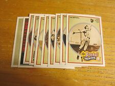 Ted Williams 10 Card Set 1992 Upper Deck Heroes MLB Baseball Boston Red Sox