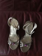 Brand New Newport News Brown Wedge Sandals - size 6.5