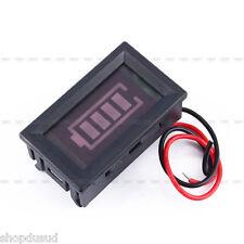 Indicateur de Batterie LED Testeur Voltmètre Digitale Auto Moto Bateau Tracteur