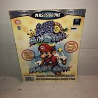 Super Mario Sunshine Nintendo Gamecube Strategy Guide Versus Books No Poster