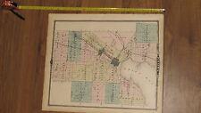 1878 Atlas - Brown County, Wisconsin Map ORIGINAL - WI Green Bay Ft Howard city