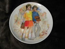 Paul Durand Emilie Et Philippe Limoges-Turgot 1979 Plate Durand'S Children