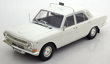 Model Car Group 1967-1992 Volga GAZ M24 Taxi White in 1/18 Scale. New Release!