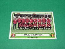 PANINI EURO FOOTBALL 78 N°4 R.W.D. MOLENBEEK BELGIË BELGIQUE 1977-1978