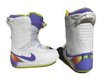 Rare NIKE SB VAPEN BOA SNOWBOARD BOOTS 586539-100 Size 7.5: feels like Wome 6.5