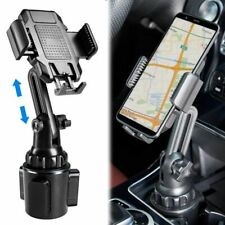 New listing Adjustable Gooseneck Cup Holder Stand Universal Car Mount Cradle for Cell Phone
