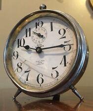 "Antique Westclox BIG BEN ""Peg Leg!"" Alarm Clock Frank L Krug Jeweler Vintage"