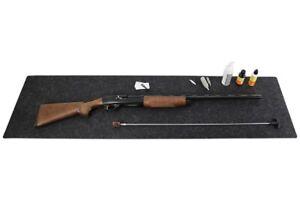 Drymate Gun Cleaning Pad Mat Gray Orange, Shotgun Rifle 16x59
