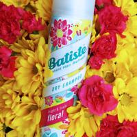 BATISTE Instant Hair Refresh DRY SHAMPOO, FLORAL 6.73 oz 200mL - New & Fresh!
