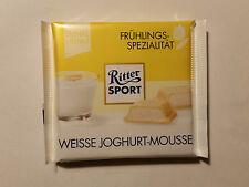Ritter Sport - WHITE JOGHURT MOUSSE - 3.5oz - 100g - MADE IN GERMANY NEW FLAVOR