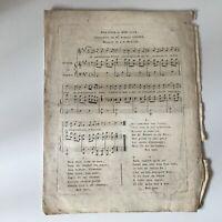 Partitura en Buen Jour Y Noche Armand Gouffé Música J. A. Mcqueen La Verdad